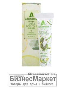 Крем для рук  Achromin Лимон-лайм 30 мл