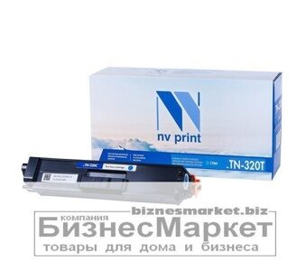 Картридж NVP совместимый Brother TN-320T Cyan для HL-4140CN4150CDN4570CDWDPC-9055CDN9270CDNMFC-9460CDN9465CDN9970CDN