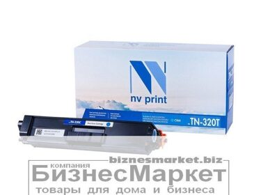 Картридж NVP совместимый Brother TN-320T Cyan для HL-4140CN/4150CDN/4570CDW/DPC-9055CDN/9270CDN/MFC-9460CDN/9465CDN/9970CDN