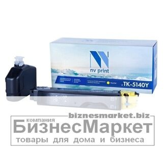 Картридж NVP совместимый Kyocera TK-5140 Yellow для ECOSYS M6030cdnP6130cdnM6530cdn