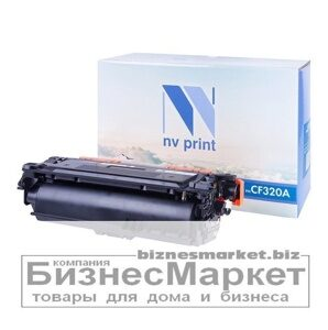 Картридж NVP совместимый НР CF320A Black для LaserJet Color M651dnM651nM651xhMFP-M680dnM680fFlow M680z