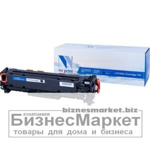 Картридж NVP совместимый HP CC530ACanon 718 Black для LaserJet Color CP2025CP2025dnCP2025nMFP-CM2320fxCM2320nCanon MF724CdwMF728Cdw  i-SENSYS LBP-7200Cdn7210Cdn7660Cdn7680CхMF8330Cdn8340Cdn8350Cdn8360Cdn8380Cdw8540Cdn8550Cdn858