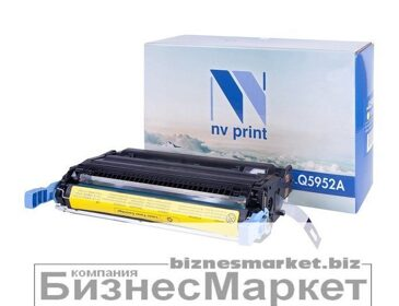 Картридж NVP совместимый HP Q5952A Yellow для LaserJet Color 4700/4700dn/4700dtn/4700n/4700ph+