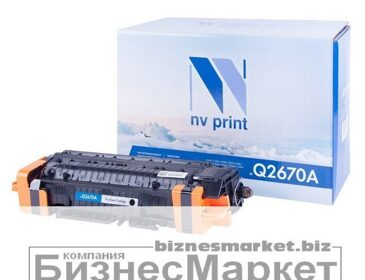 Картридж NVP совместимый HP Q2670A Black для LaserJet  Color 3500/3550n/3700
