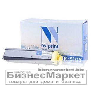 Картридж NVP совместимый Kyocera TK-510 Yellow для FS-C5020N5025N5030N