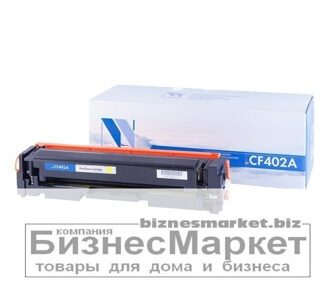 Картридж NVP совместимый HP CF402A Yellow для LaserJet Color Pro M252dwM252nM274nM277dwM277n