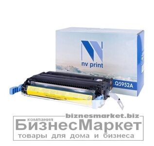 Картридж NVP совместимый HP Q5952A Yellow для LaserJet Color 47004700dn4700dtn4700n4700ph+