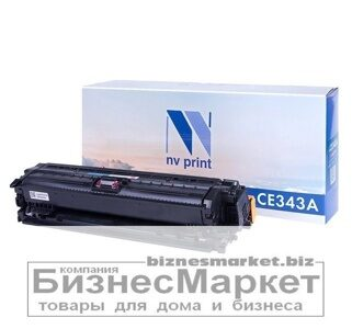 Картридж NVP совместимый HP CE343A Magenta для LaserJet Color Enterprise 700 M775dnM775fM775zM775z+